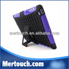 Manufacturer 2 in1 Silicon PC Durable Armor Case Stand for iPad Air