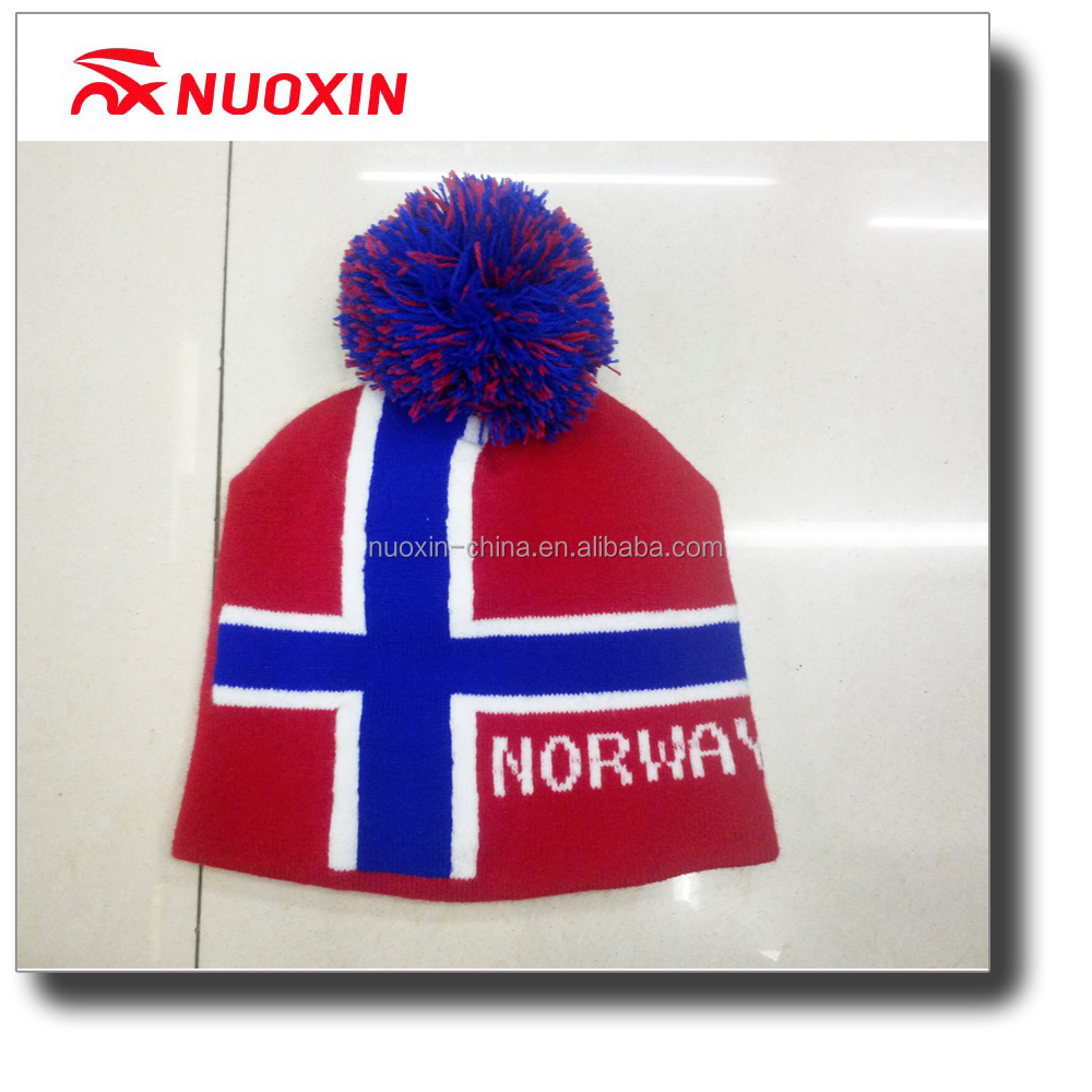 NX Newest selling simple design sport winter knit beanie hat in many style