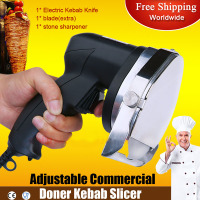 Electric doner kebab slicer Shawarma Knife Cooked Meat Cutter