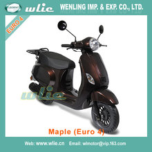 Gas scooter 25km/h and 45km/h 150cc/125cc/50cc 125cc with eec euro 4 certification Euro4 EEC COC Scooter Maple 50cc (Euro 4)