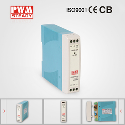 CE approved MDR-10 switch power supply 10W 0.8A 12V DIN Rail led driver