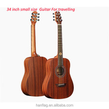 "cheapest laminated acoustic Guitars 34"" baby travel guitar"