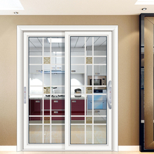 HS-JY8033 chinese cold room sliding colored glass door