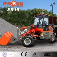 ER16 Multi-Function Agricultural Farm Tools,Articulated Mini Wheel Loader,Names Agricultural Tools