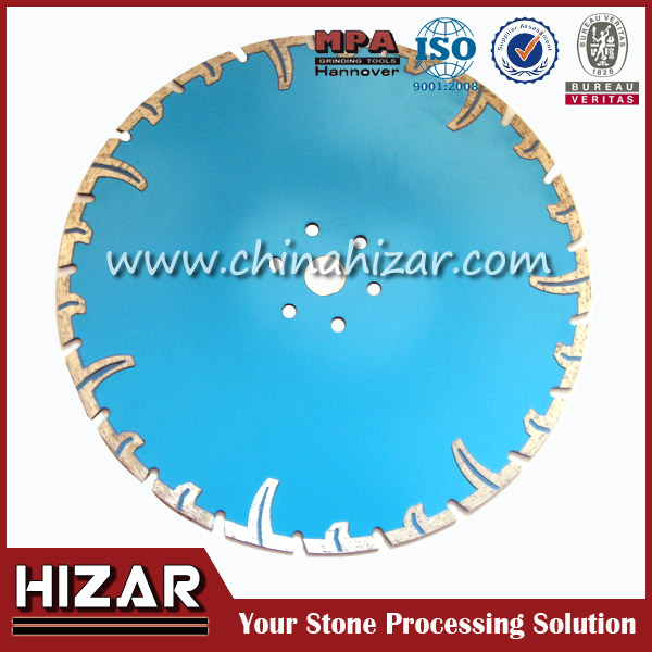 Turbo Cutting Blade With Flush/Diamond Saw Blade With Protective Segments Dia:230mm