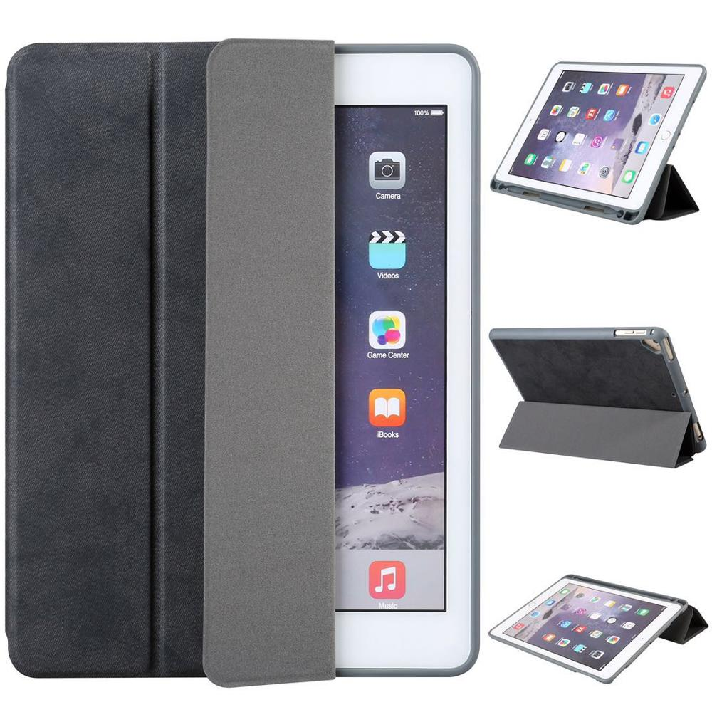 HAISSKY Amazon Hot selling Flip Shockproof Leather Rotatable tablet Case For IPad Air/Air 2/Pro9.7