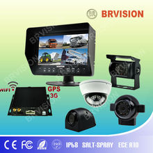 motorcycle reverse gear with IP 68 waterproof reverse car camera and accessories