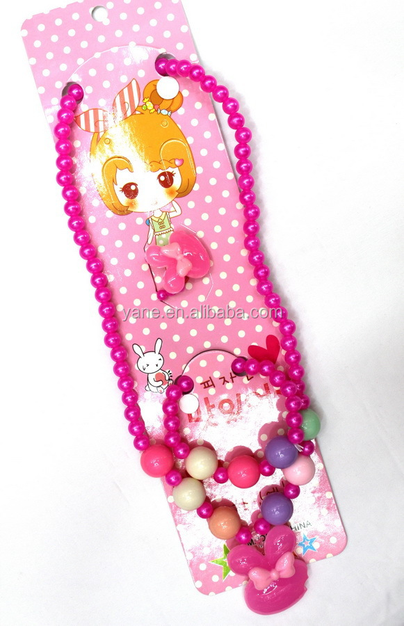 Hair Accessories Set, Hairbands, Children Necklace For Girls
