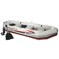 Intex 68376 Professional Series Mariner 4 Set Inflatable Raft Fishing Boat