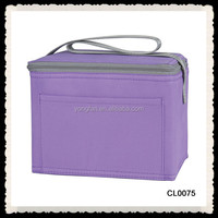 Portable Travel Camping Outdoor Picnic Necessity Thermal Insulated Tote Cooler Lunch Box Handbag