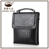 Online Shopping Hongkong Mens Cheap Leather Messenger Bag With Tote