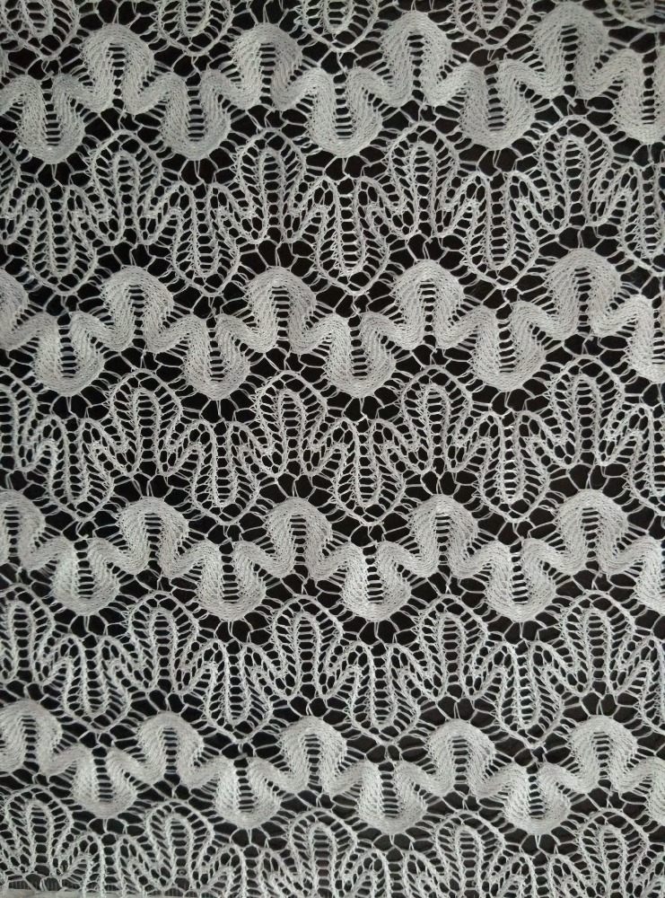 2017 most popular african embroidery organza lace fabric from China famous supplier