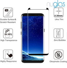 Mobile smart phone touch 3d full curved screen protector glass display cell phone for samsung galaxy s9 plus