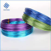 Factory price bright craft wire / artistic wire with painted wire