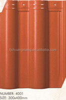High quality red clay roof tiles/light weight ceramic roof tiles