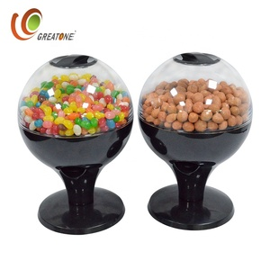 Wholesale high quality plastic candy bin for children and office automatic sensor candy dispenser