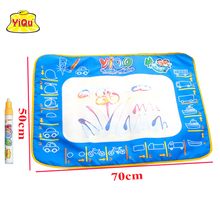 Magic Water Drawing Mat Aqua Doodle Playmat Reusable painting carpet toys for kids