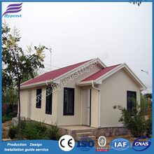 Fast construction easy assembled economic modern prefabricated steel frame house prefab beach house