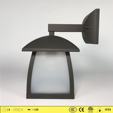 High quality outdoor square lights 4511 decorative industrial pc wall light outdoor