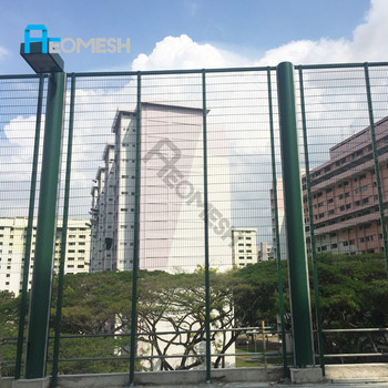 Project in Singapore Twin Wire Fence