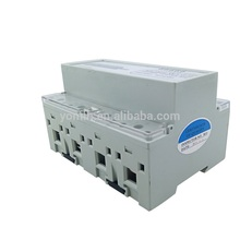 DIN RAIL THREE PHASE ANALOG ENERGY METER WITH PULSE OUTPUT