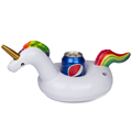 summer inflatable unicorn pool drink holder floating cup holder for pool party