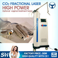 Laser Co2 Fractional with vaginal head for vaginal tightening / co2 fractional laser equipment