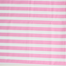 wholesale T/C 32*32 130*70 pink white stripe fabric of hospital bed sheet