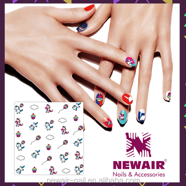 2D Nail Sticker,nail art stickers, animal stickers design for nails art