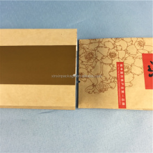 2017 wholesale heat seal customer printing kraft paper Side Gusset Tea Packaging Bag for herbal tea