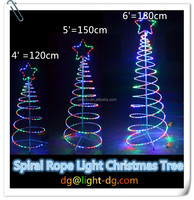 Best Sale Spiral Rope Light Christmas Tree