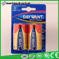 Efficient Energy Pro-Environment Dry BatteryR20 Size D Dry Cell Battery