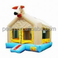 Kids inflatable dog bounce house for sale, customized design bouncy house