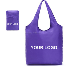 popular design eco friendly wholesale polyester foldable shopping bag
