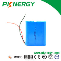lithium ion battery pack 18650 3000mAh 11.1v 12v rechargeable cylindrial batteries