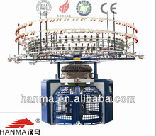 Single Jersey Auto Striper Producing Color-stripes Fabrics Circular Knitting Machine