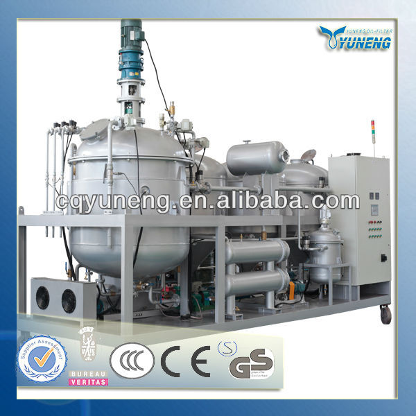 YNZSY used mobile oil recycling machine