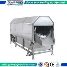roller washing machine for potato carrot root vegetables