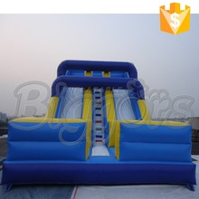 Hot Sell Double Lane Slide Bounce Inflatable Slip And Slide