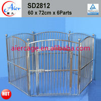 Stainless steel dog pens