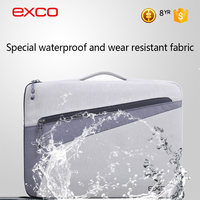 EXCO Lowest MOQ Waterproof custom laptop sleeve 13.3, 15.6 for girls