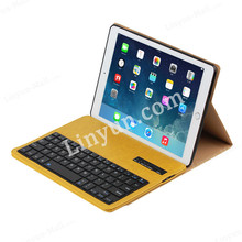 Luxury For iPad Air 2 Bluetooth Keyboard,For iPad Air Case Keyboard Leather Crazy Horse
