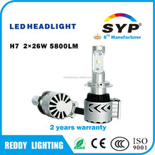Universal car led headlight h13 9005 9006 h7 h8 h9 h11 28w 5800lm,led headlights for cars 12v