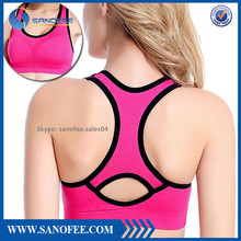 Spandex Women's No-Bounce Full-Support Gmy Bra Workout Sport Yoga Bra