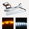 2016 new products led drl daytime running lights crystal lamp