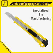 Fine Material Stationey Cutting Knife 9MM Wide Blade Easy Sliding OEM