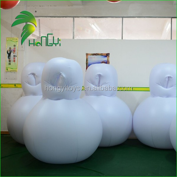 Excellent Design Inflatable PVC Japan Decompression Bag Suit Toy / Inflatable PVC Sleeping Bag