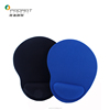 Promotional ergonomic memory foam mouse pad with wrist rest support