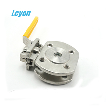 stainless steel supply flange standard 1pc ball valve dn15 1pc gas 1PC flange ends ball valve