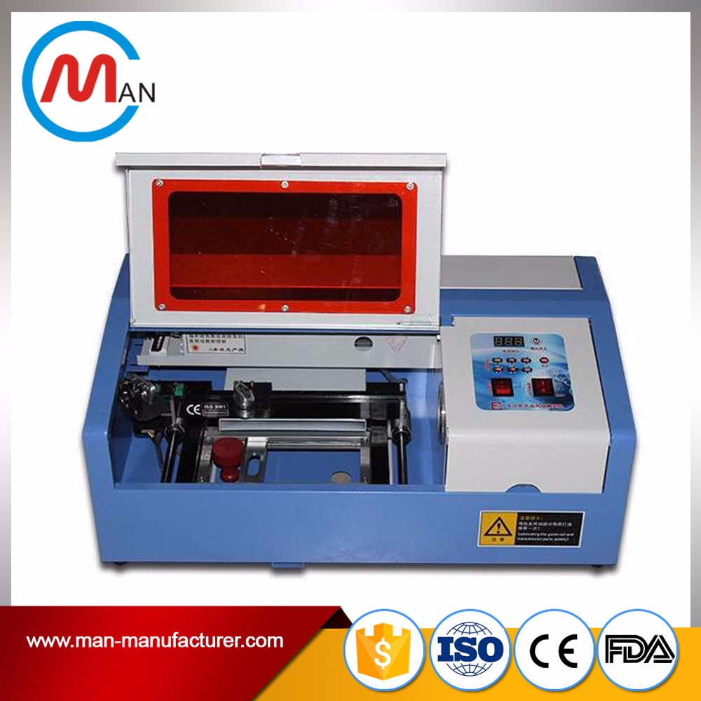 3020 4030 6040 cnc co2 40w small keyboard laser engraving logo machine